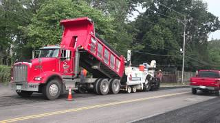 Video still for Conventional Paving and Spray Paving