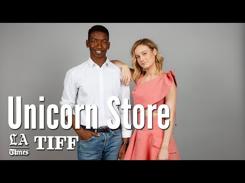 Brie Larson Talks About Her Directorial Debut 'Unicorn Store' | Los Angeles Times