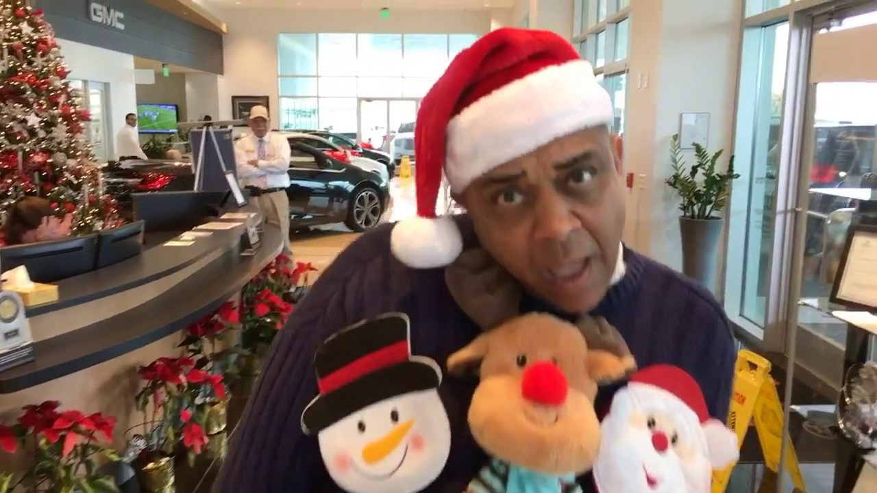 gunn buick gmc christmas sweater contest 2016 youtube. Black Bedroom Furniture Sets. Home Design Ideas