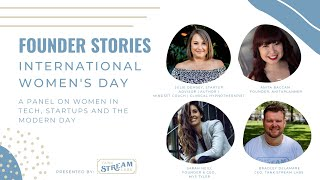 Founder Stories - International Women's Day