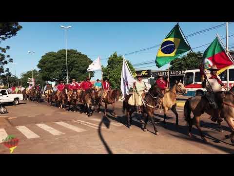 2ª Cavalgada Intermunicipal de Carazinho - GCT Cavaleiros da Vereda das Tropas