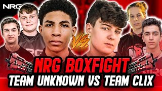 Insane NRG 3v3 Boxfight Battle | Clix, Zayt, and EpikWhale VS. Unknown, Benjyfishy, and Edgeyy