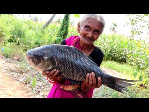 My grandma Cooking Simple and easy BIG FISH FRY RECIPE
