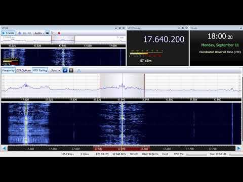 11 09 2017 Madagascar World Voice, African Pathways Radio in English to WeAf 1800 on 17640 Mahajanga