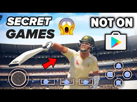 TOP Amazing! Secret Cricket Game Not Available In Play Store For Android 2019   In Hindi