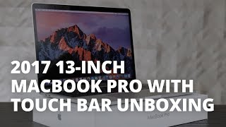 2017 13-inch MacBook Pro with Touch Bar Unboxing