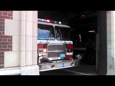 Brookline Fire Department Engine 1 Youtube