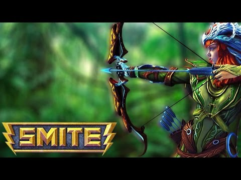 видео: smite. Обзор персонажа artemis.