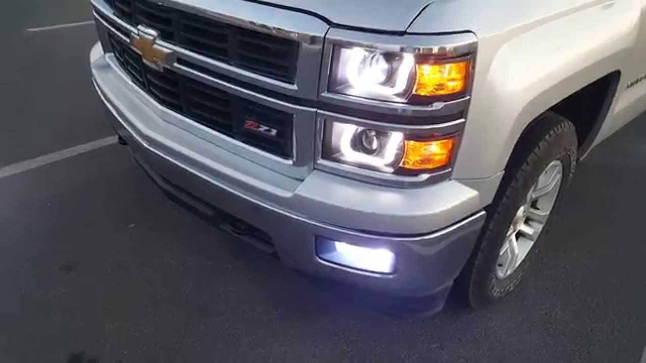 Anzo headlights HID 2015 silverado   YouTube Anzo headlights HID 2015 silverado