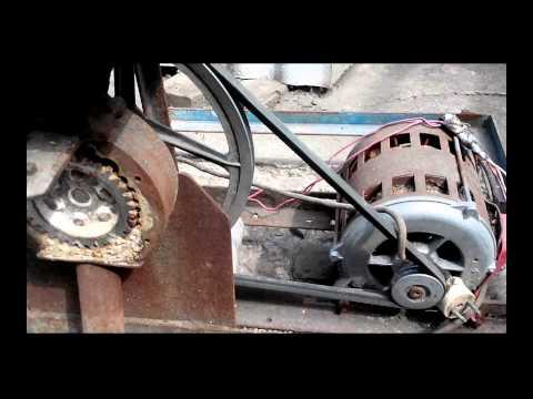Дробилка вальцовая для зерна своими руками