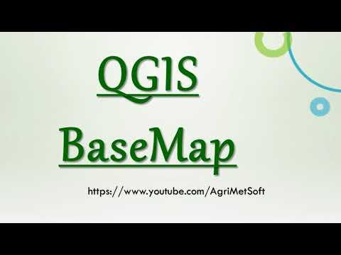 Add Basemap in QGIS