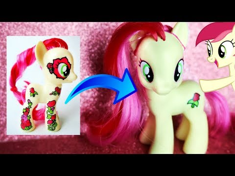 How To Get Rid Of Extra MLP Tattoos! Extra Cutie Mark Remover Tutorial