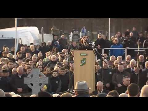 Burial of Martin McGuinness!