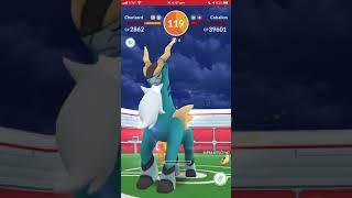 Pokémon Go - Level 5 Raid - Cobalion