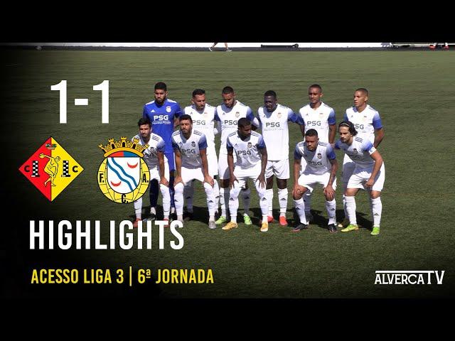 Condeixa 1-1 FC Alverca   Highlights
