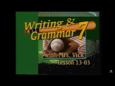 Grade 7 Writing & Grammar