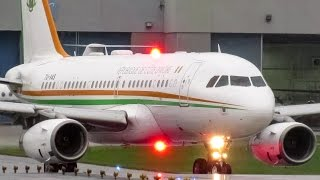 Ivory Coast Government (Presidential Flight) A319(CJ) departing Montreal (YUL/CYUL)