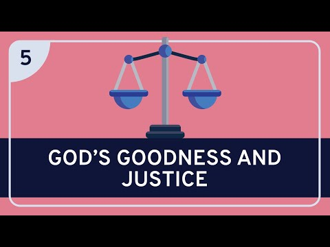 PHILOSOPHY - Religion: Classical Theism 5 (God's Goodness and Justice)