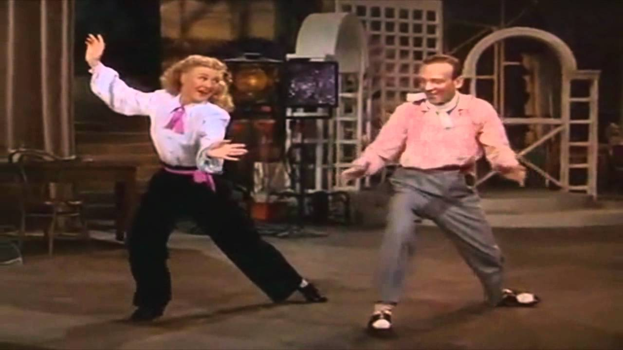 Bouncin The Blues Fred Astaire Ginger Rogers Hd Youtube