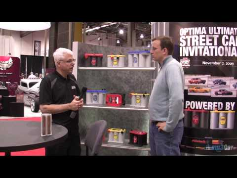 Electric Car Battery Comparison - AGM, GEL and Wet - SEMA 2009