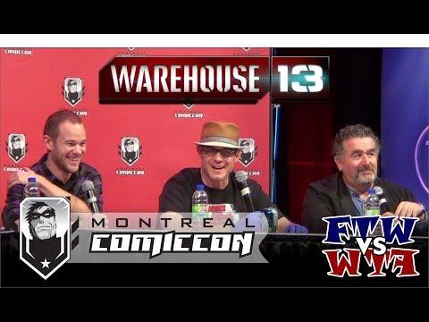 Warehouse 13 - Saul Rubinek, Eddie McClintock & Arron Ashmore - Montreal ComicCon - Full Panel