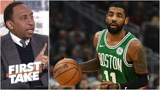 Kyrie Irving's confidence in the Celtics is 'on the money' – Stephen A. | First Take