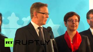 Germany: bodo ramelow elected first-ever die linke state premier