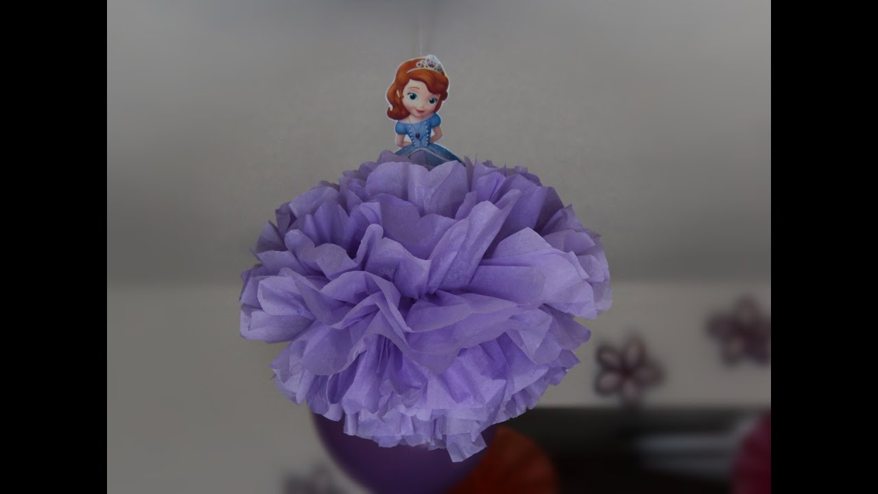 Princess Sofia Themed Birthday Party Decoration