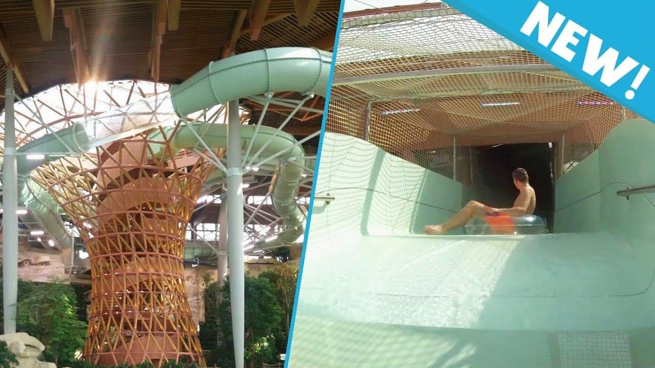 New Aqua Racer Water Slide At Aqualagon Villages Nature Paris