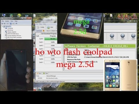 how to flash coolpad mega 2 5d | unbrick dead recovery
