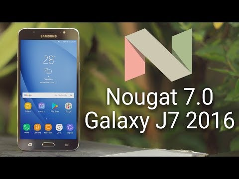 Galaxy J7 2016 Nougat 7.0 Official Update Full Review