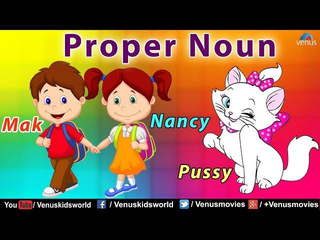 Proper Noun ~ Grammar Class
