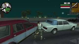 Grand Theft Auto San Andreas Windows 10 Gameplay
