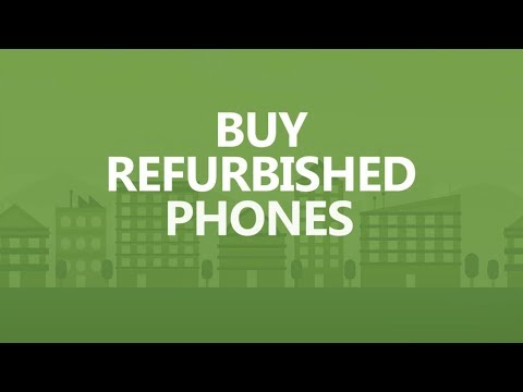 Save Big in 30 seconds a day: Buy refurbished phones.