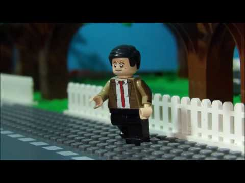 LEGO Stop Motion : Mr Bean | Who Want Some Pizza ? | HD