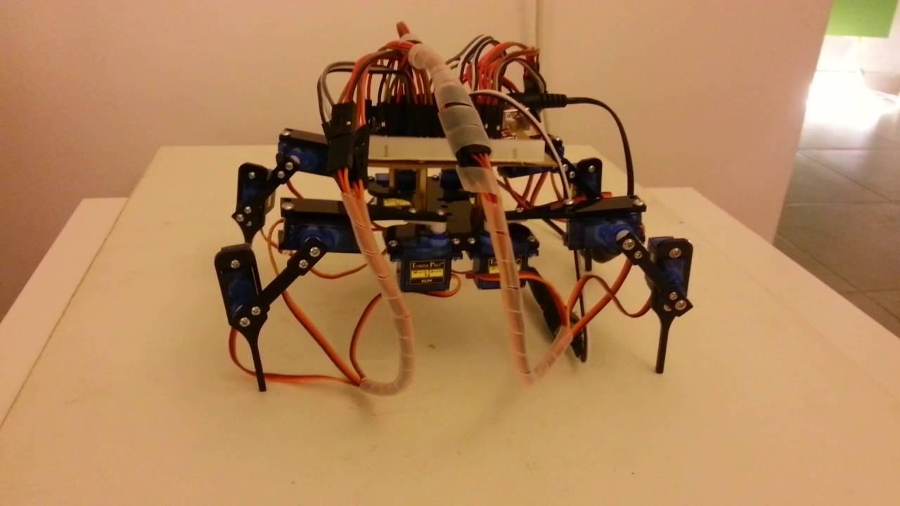 Arduino legs servo robot youtube