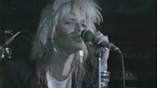 "HANOI ROCKS ""Don't Never Leave Me"" Live at The Marquee 1983 http://..."