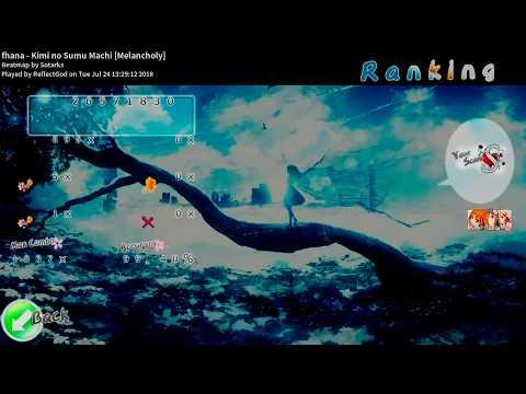★8.13 fhana - Kimi no Sumu Machi +HDDT FC [Melancholy]