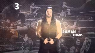Top 10 Superman Punches - Roman Reigns 2016