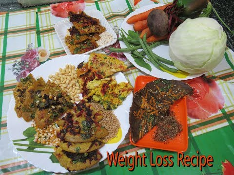Weight Loss Recipe (soyabean|Oats |Chick pea|Wheat|  Corn flour)What can I eat-----