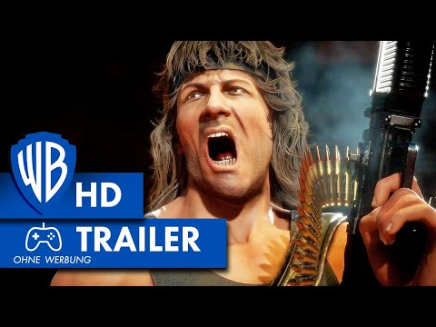 MORTAL KOMBAT 11 – Gameplay Trailer Rambo Deutsch HD German (2020)
