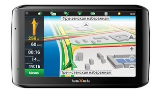 GPS Навигатор teXet TN-610 Voice HD комплектация, обновление Navitel(Сенсор немного туповат. Но если использовать по прямому назначению то в полне устаривает. Работает пока..., 2014-08-07T21:32:39.000Z)