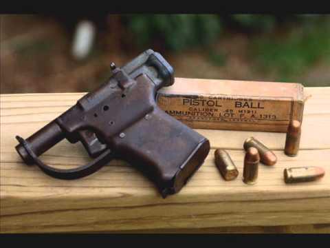 Brief History Of The Liberator Pistol 45 Acp Youtube