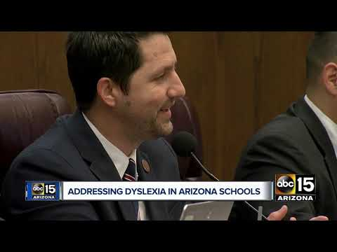 Lawmakers considering bill to address dyslexia in Arizona schools