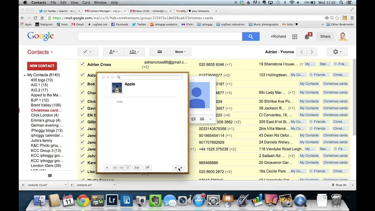 how to make gmail default on mac