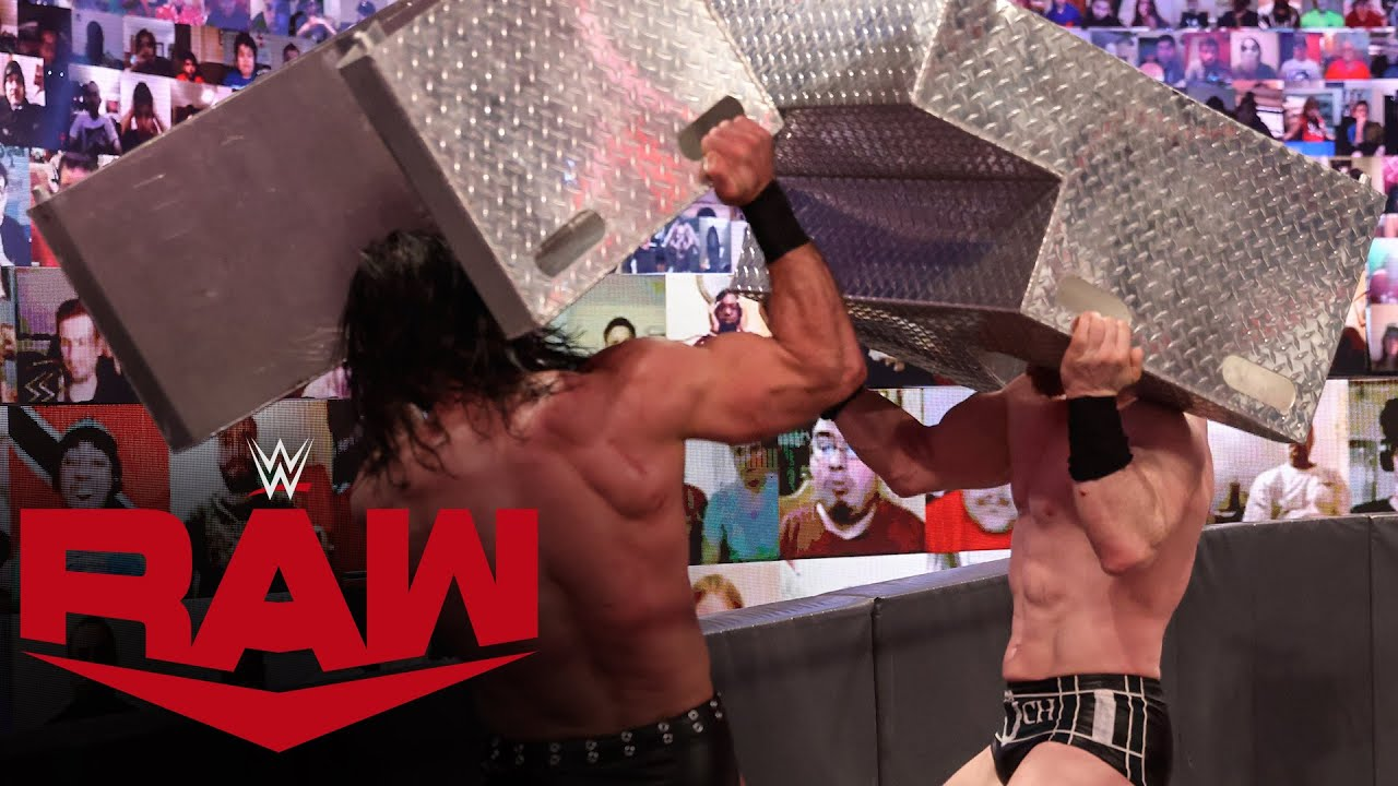 Drew McIntyre vs. Sheamus – No Disqualification Match: Raw, Mar. 8, 2021