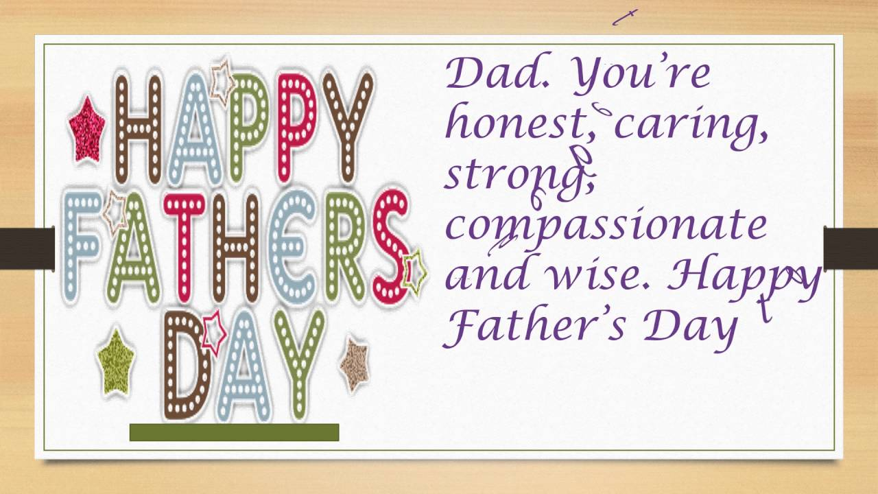 Father's day Greeting Card: Father's days wishes, SMS ...
