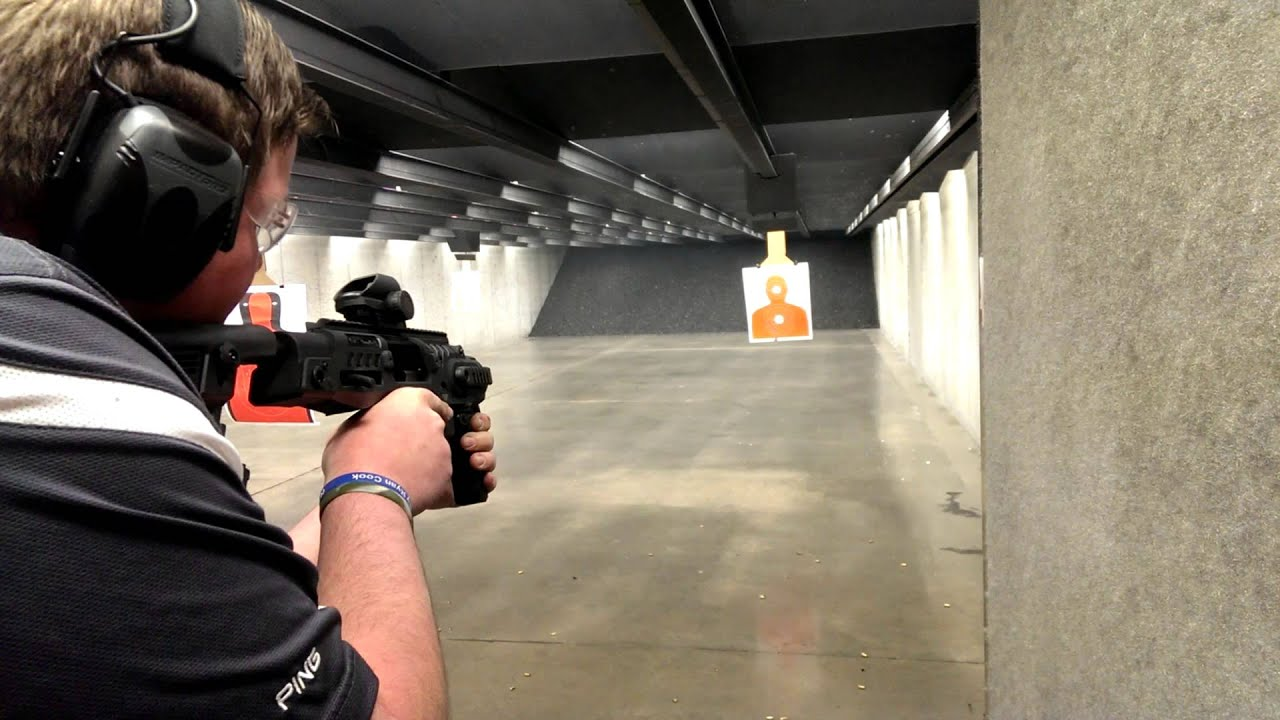 Full Auto Shooting Glock G18 Sbr At Centerfire Shooting Sports Youtube