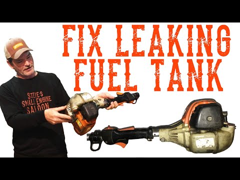 How to Fix a Cracked Plastic Gas Tank - Video