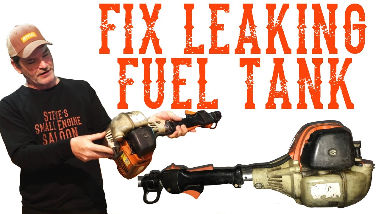 How To Fix A Ed Plastic Gas Tank Video